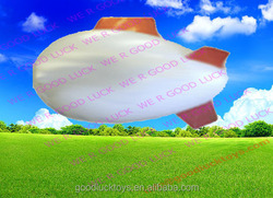 promotional inflatable pvc airship/pvc blimp shape pvc balloon /zeppelin /inflatable blimp for sale