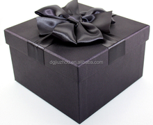 Oversized square basketball boutique box set of box Business order dark purple gift box