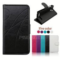 Smart Back Cover Wallet high quality Leather Phone Case for Asus Zenfone 2 Ze500CL