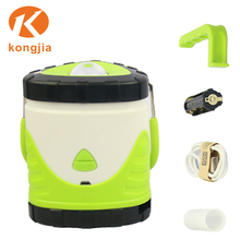Factory Wholesale 18650 Battery Powered 150 Lumen ABS Plastic Rechargeable 3W Led Camping Lantern