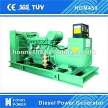 450KVA 360kW CHP Silent Diesel Power Generator for Sale