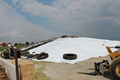 Multi-layer black white silo cover
