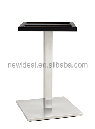 stainless steel furniture parts bistro table legs (NA5269)