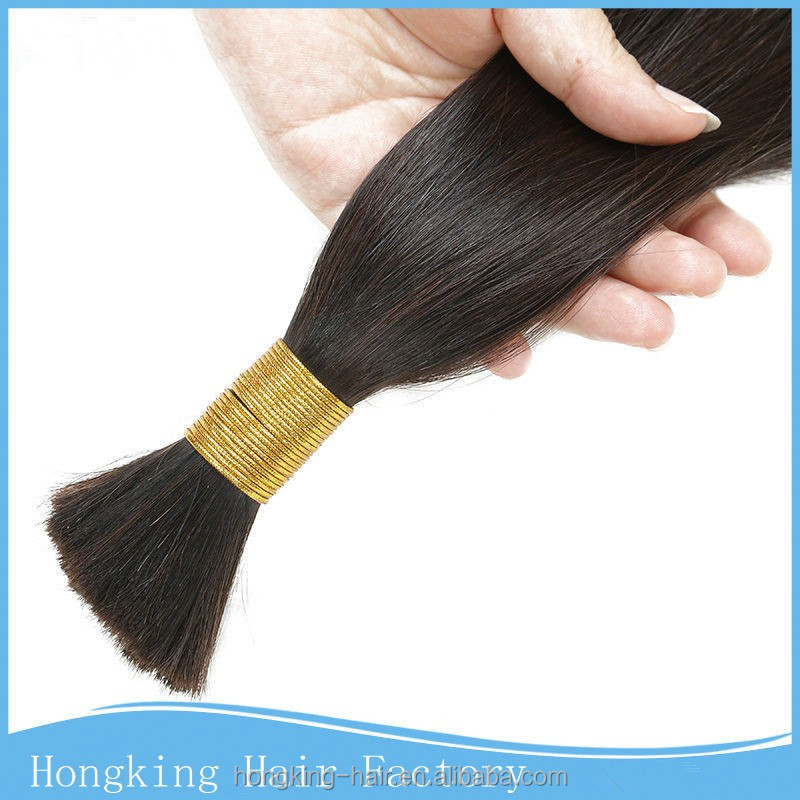 Brazilian bulk hair extensions without weft freetress bulk hair