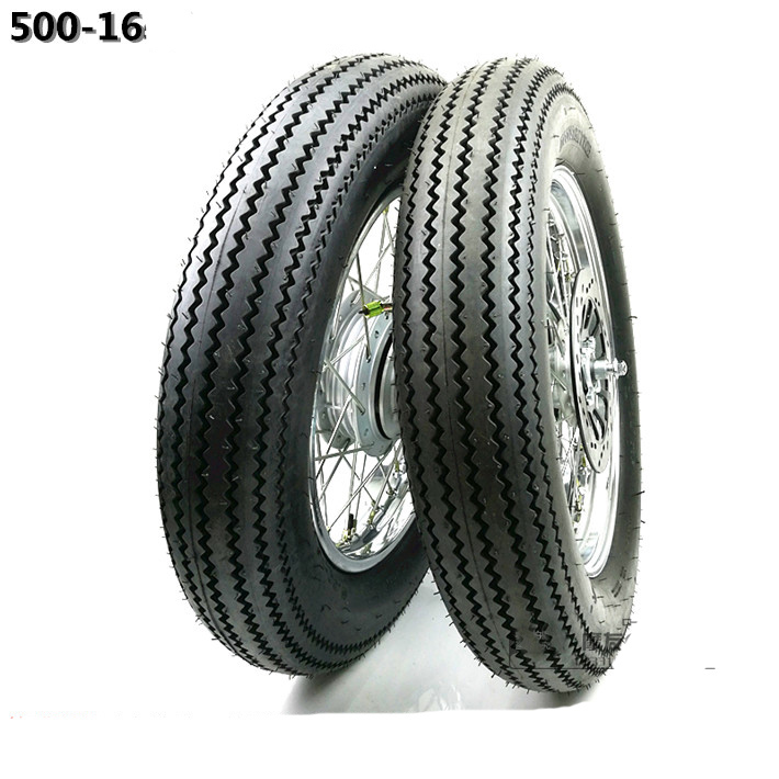 GN125 500-16 Tire Tyre Tube Front Rear 16 Inch Motorcycle Wheel Rims With Brake Sprocket Disc Disk Rotor Hub