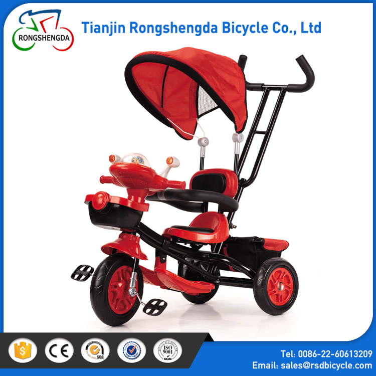 Baby ride on cars cartoon baby Tricycle baby with push handle / children tricycle rubber wheels / kids tricycles
