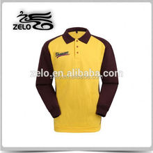 Breathable good look design shirt for pre promotion