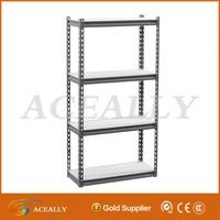 Metal Steel Rack Garage Home Storage 4 Shelves Shelf Shelving