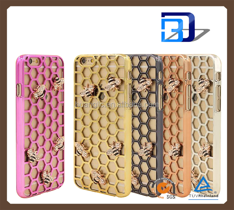 Premium Matte bee Nest Hollow Design Case Cover Skin for iPhone 5 5S
