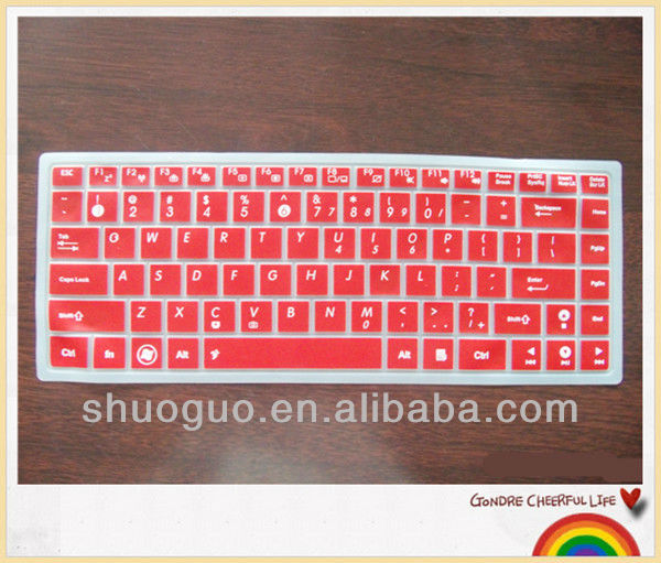 silicone keyboard cover/laptop keyboard cover for asus