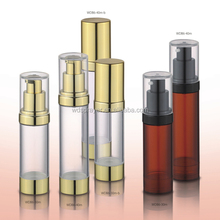 orange color cosmetic airless packaging