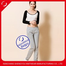 Custom wholesale spandex cotton women Pants & Trousers