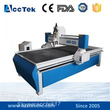 Jinan AccTek high precision cnc milling machine kitchen cabinet doors Wood CNC Router 1325 wood board cutting machine