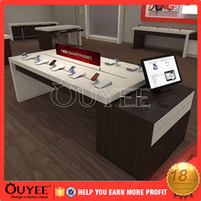 Customer love 100% original high quality costomized 3d design cellphone repair showcase kiosk for retail sale