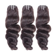 6a brazilian Loose wave hair full cuticle no tangle no shedding accept paypal payment