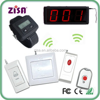 wireless calling pager system LED display receiver