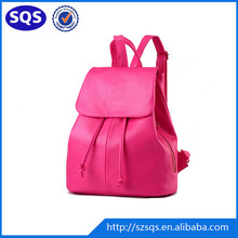 OEM Special Design hot colorful Outdoor Backpack PU Leather Softback backpack
