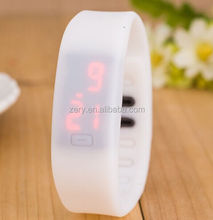 R0798 new products for 2016 Silicone Led Watch, Original battery Silicone Led Watch