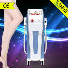 Gold supplier AFT 3000W shr ipl elight 3 in 1 beauty machine with CE certificate/laser alexandriter hair removal and ipl