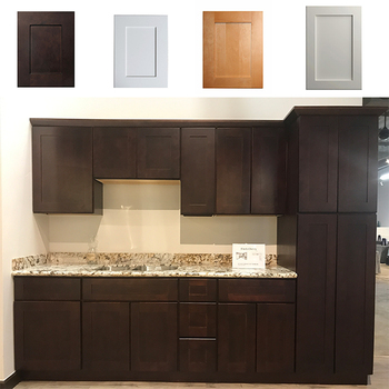 Modular Shaker Style Ready Made Kitchen Cabinet Doors Designs Solid Wood