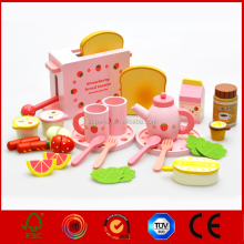 Hot Sale Modern Wooden Kitchen Sets Tool Box Toy For Mother Garden SJ5127