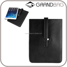 China Supplier Leather Laptop Sleeve Bag for ipad real leather Laptops case