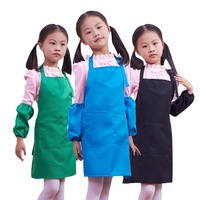 Custom wholesale cheap children's drawing kids apron