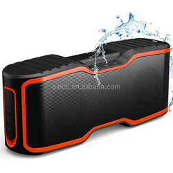 mobile phone wireless ipx7 waterproof NFC tws marine speaker 20w