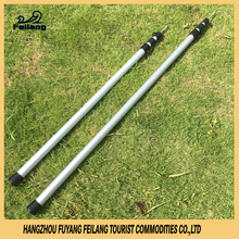 3M Aluminum Adjustable Telescopic Extension Flexible Car Parking Beach Tent Pole With Steel Core