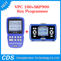 SuperOBD SKP-900 Hand-Held OBD2 Auto Key Programmer V3.7 SKP900 Plus VPC-100 Pin Code Calculator Hand-Held With 500 Tokens
