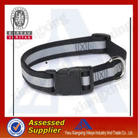 2014 hot sale durable strong padded nylon pet dog collar