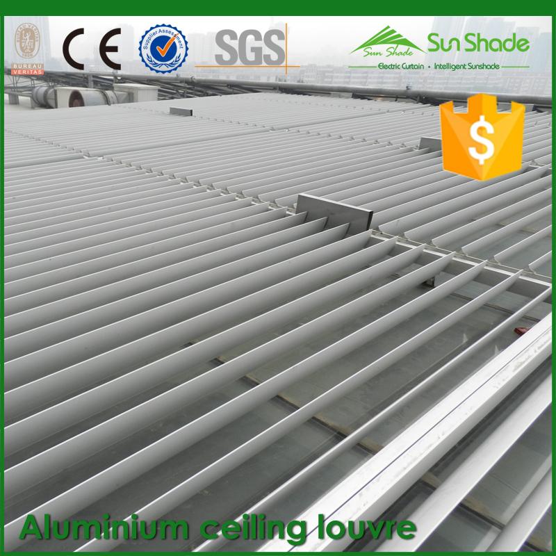 Costruzione esterno regolabile sole soffitto in alluminio for Lucernario motorizzato prezzo