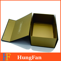 Customized cardboard Flat folding gift box