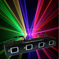 RGBP Four Head Laser Light Disco Light Stage Light for Wedding Disco Bar Party Stage Four Head Laser