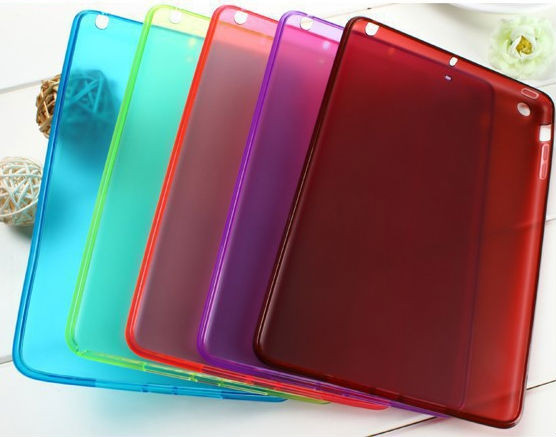 For iPad Mini / iPad mini 2 TPU Silicone Soft Skin Case Cover