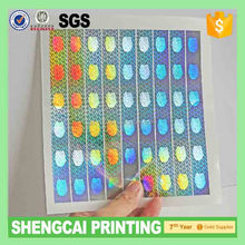 Hologram stickers anti-counterfeiting sticker anti fake hologram lables1000 pcs/lot 1.5cm