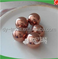 8mm/10mm/12mm/16mm pure copper sphere ,copper /brass hollow ball