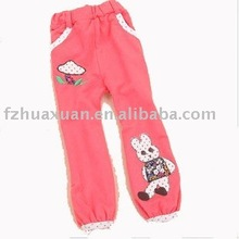Girls' lovely trousers