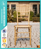 Factory Price Wedding Used Wood Chiavari Chair For Sale