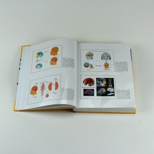 Healthy first aid book printing & medical equipment book with glossy lamination hardcover and art paper inner pages