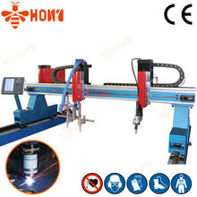 Honeybee Economic Gantry plasma sheet metal working machine Germany quality Chinese price