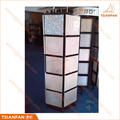 High Capacity Natural Stone Granite Tile Slab Display Tower Stand for Marble Promotion