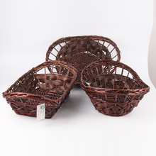 cheap large handmade wicker plate for storage