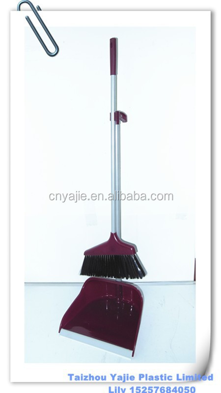 Plastic Handy Dust Pan , Dust pan with broom , broom set