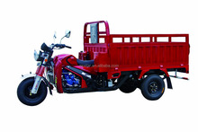 Big Power Heavy Load Three Wheel Motorcycle With Deep Wagon