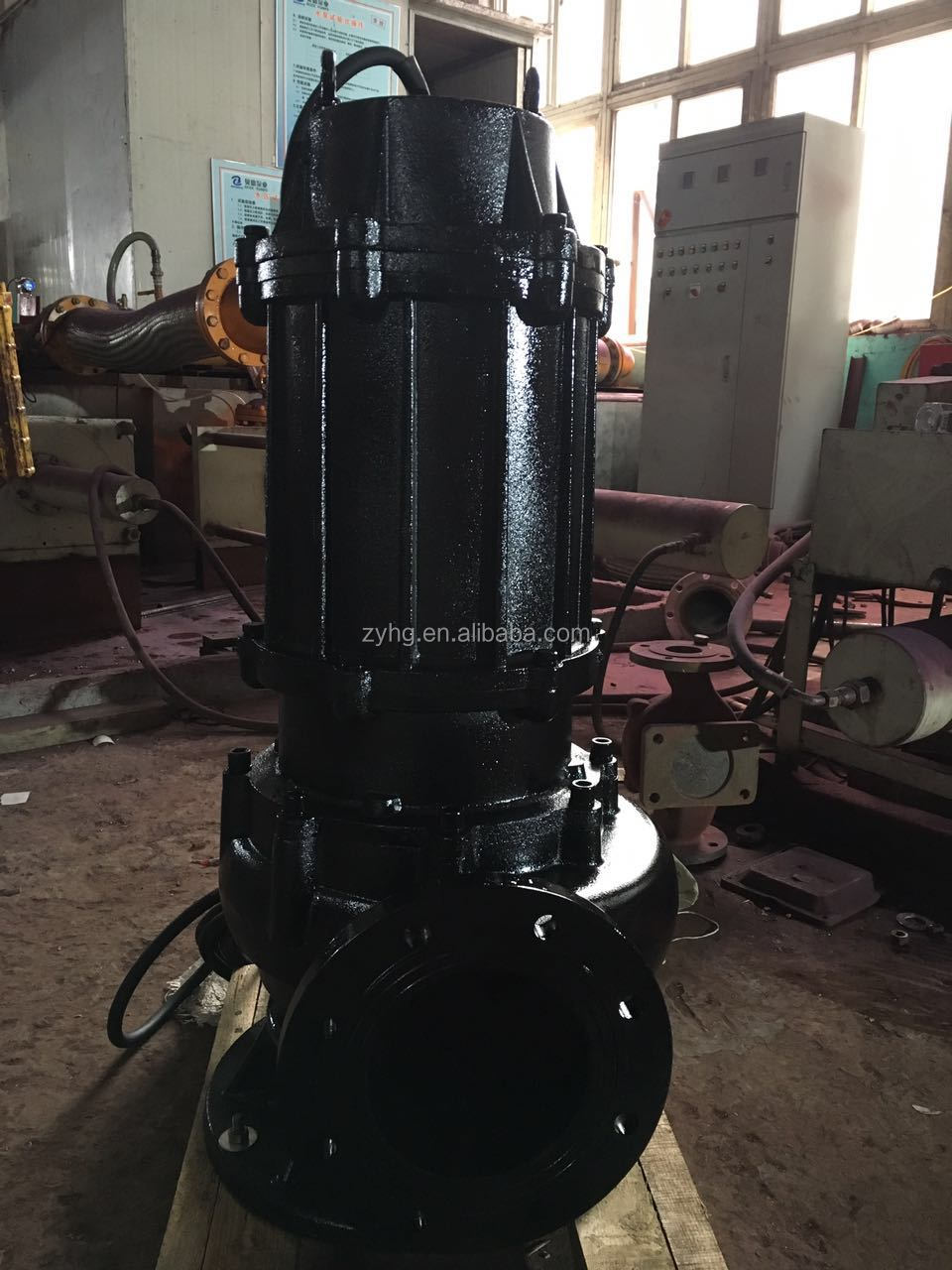 Non-clog Waste Water Lift Submersible Sewage Pump