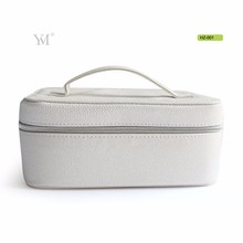 wholesale large capacity PVC makep train vanity cosmetic case