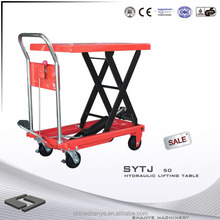 SHANYE SYTJ-50 motorcycle table lift for sale