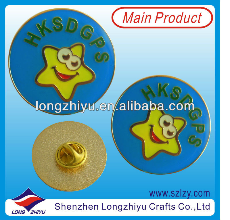 2013 Popular Novelty Metal Medal Badge Making Materials Made Of Brass With Customized Design,Metal Lapel Pin