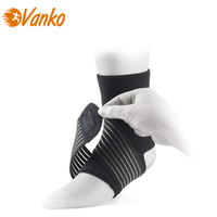 Adjustable elastic band ankle brace performance neoprene ankle support with straps